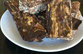 Protein-Riegel Schokolade Peanut Butter