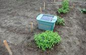 Hirsch abschreckende / Repeller für Ihren Garten mit einem solar powered MP3-Player, einen Gesprächspartner zu spielen