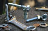Wie zu lösen oder Anziehen von Schrauben und Muttern mit dem Schraubenschlüssel falsche Größe