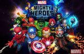 Mächtige Helden Marvel die Multiplayer-Schlacht beginnt