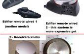 PC-Lautsprecher: Wired Lautstärkefernbedienung mit Parfüm Cap