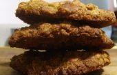 Walnuss & Braunzucker Haferflocken Cookies