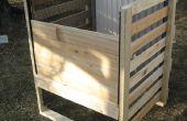 Holz Rahmen Kompost