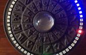 Stargate inspiriert Arduino NeoPixel 3D gedruckte Uhr