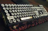 Das Luftschiff-Kapitän MK-I(yet another steampunk keyboard)