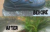 So wechseln Sie einen alten Schuhe in ein Blumentopf (Easy)