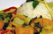 Einfaches Kürbis Curry Rezept