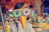 Tragbare ZOO Masken basteln Workshop