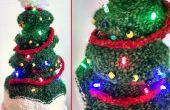 Leuchtender Weihnachtsbaum Hut