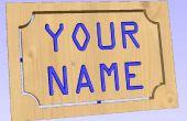 Erstellen Sie Namensschilder mit VCarve PRO