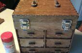 Laser schneiden kleine Toolbox/Schmuck-Box