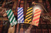 DIY: Harry Potter Lesezeichen (Häuser von Hogwarts)