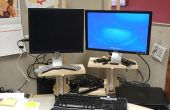 Höhenverstellbare Monitorständer