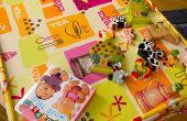 Wie erstelle ich eine Kunst-Tischdecke für kleine Kinder