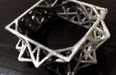 Galvanik 3D Schmuck gedruckt