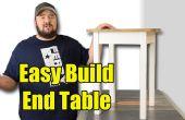 Einfach bauen Beistelltisch - Werkzeugen