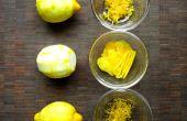 Gewusst wie: eine Zitrone zest