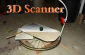 Machen Sie einen 3D-Scanner von Handy und Fahrrad-Rad