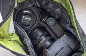 Mit einer billigen benutzerdefinierte Bucht für Ihre Kameratasche organisieren