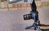 Wie einen Blitz-Diffusor für Makro-Fotografie machen