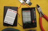 LiFePO4 (3.2V) Projekt innerhalb eines 3 x AA Batteriehalter!