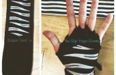 Rutschfeste Yoga Handschuhe