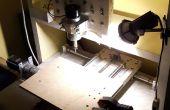 Hausgemachte CNC-Fräsmaschine - Maszyna CNC-Domowej roboty
