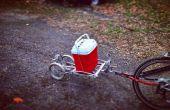 Fahrrad-Anhänger DIY Boot Anhänger Tag entlang Trailer Buddy Trailer Multi Purpose