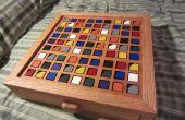 Farbbasierte Sudoku Holzbrett