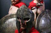 Kostüme: Spartaner aus 300 und Max von Where the Wild Things Are