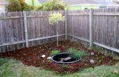 Erstellen A kleine SOLAR POWERED Teich & Garten für rund 100 Dollar