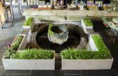 ShapeCrete:: Hypertufa / Beton Pflanzgefäße für Tee-Shop Teance