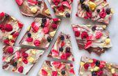 Fruchtige Schokoladen Rinde