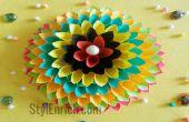 Home Deko-Idee: Papier Floral Craft