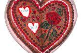 Riesiges Herz geformt Chocolate Chip Cookie