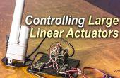 Steuerung einer großen Linearantrieb mit Arduino