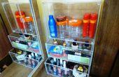 Frühjahrsputz: Organisieren Sie Ihre Sachen in einem kleinen Raum