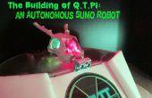 Das Gebäude des Q.T.Pi: eine autonome Sumo-Roboter