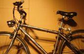 Wie installiere ich einen Dynamo angetrieben Fahrradlicht.