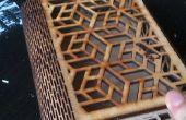 DIY-geometrische Laser-schneiden-Box