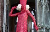 Lady GaGa rote Spitze Kostüm