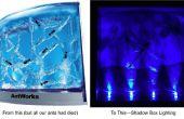 Wiederverwendung von LEDs für die Beleuchtung von Shadow Box