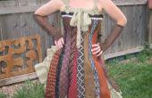 Steampunk Krawatte Korsett Kleid