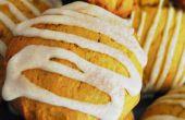 Gewürzten Kürbis Kissen Cookies (mit Ginger Cream Cheese Frosting)