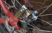 Kontaktlose Dynamolampen Fahrrad Rad
