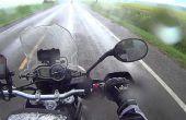 Motorrad-Sicherheit: Fahren im Regen