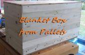 Erstellen Sie eine Decke-Box von Paletten