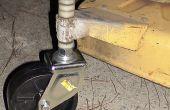 Bauen Sie einen Rasenmäher-Caster