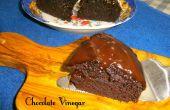 Feuchter Schokoladen Essig Kaffee Kuchen