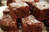 Vegane Double Chocolate Brownies! Das Beste!